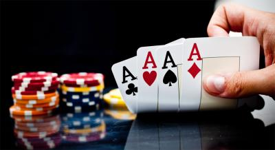 Poker Casino Karten Asse Chips